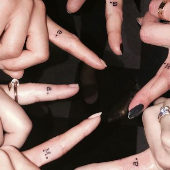 12 of the Tiniest Celebrity Tattoos