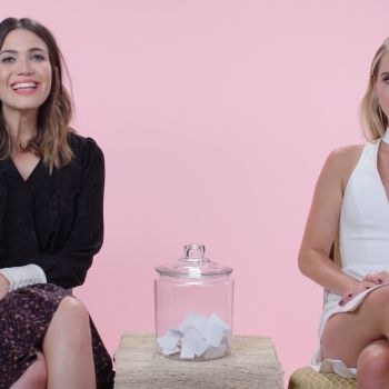 "Mandy Moore and Claire Holt Play ""Would You Rather?"""