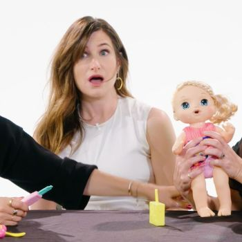 Mila Kunis, Kristen Bell and Kathryn Hahn Review Kids Toys