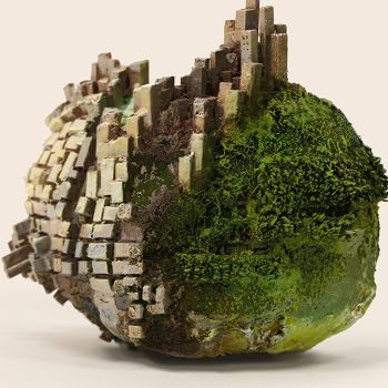 How One Artist Turned Paper Into Surreal, Mind-Bending Rocks