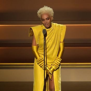 "Solange Speaks About Her ""Rise and Fall"" While Accepting Her WOTY Award"