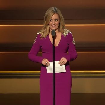 """Samantha Bee Is """"Humbled"""" By Her Woman of the Year Award"""