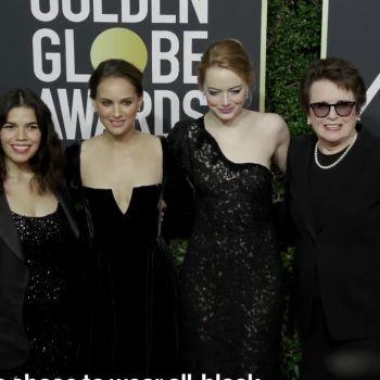 The 2018 Golden Globe Red Carpet