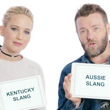 Jennifer Lawrence and Joel Edgerton Teach Kentucky and Aussie Slang