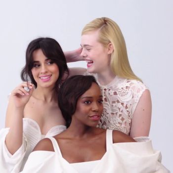 Exclusive Look at Glamour's April Cover Shoot with Camila Cabello, Elle Fanning and Aja King