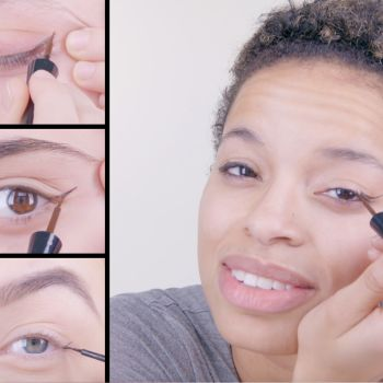 50 Women Try a Cat Eye with Liquid Liner