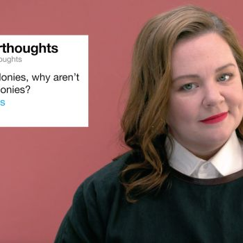 Melissa McCarthy Gives Advice to Strangers on the Internet