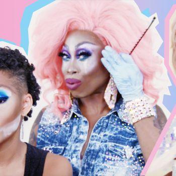 Monique Heart Gives Amandla Stenberg a Drag Makeover