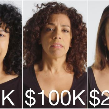 Women of Different Salaries on Anxiety about Money