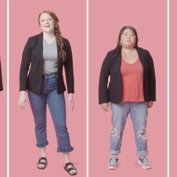 Women Sizes 0 Through 28 Try On the Same Blazer