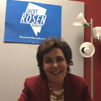 Democrats are Fighting to Send Nevada's Jacky Rosen to the Senate