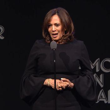 Senator Kamala Harris Empowers Women to Speak Their Truth
