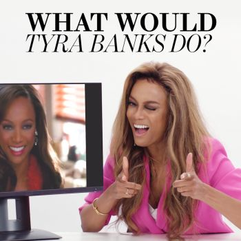 "Tyra Banks Plays ""What Would Tyra Banks Do?"""