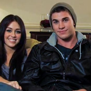 Miley Cyrus and Liam Hemsworth's Teen Vogue Cover Shoot