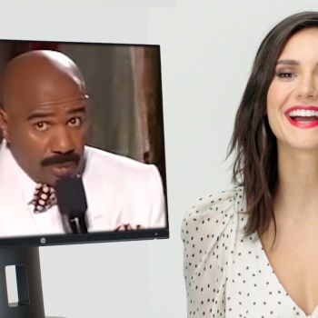 Nina Dobrev Reacts to Iconic Pop Culture Moments