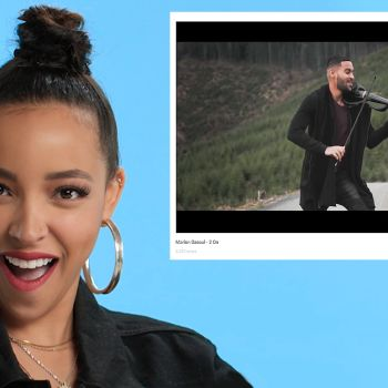Tinashe Watches Fan Covers on YouTube