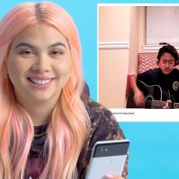 Hayley Kiyoko Watches Fan Covers on YouTube