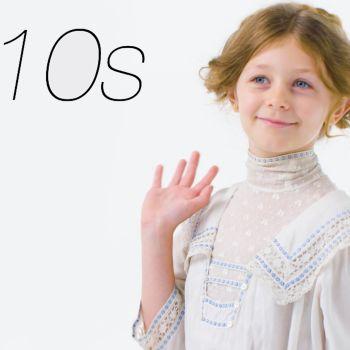 100 Years of Girls' Clothing