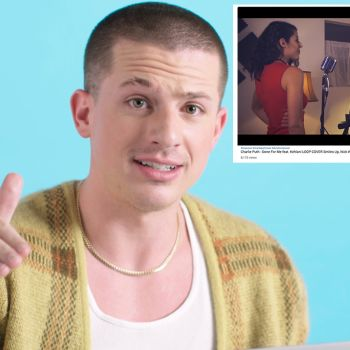 Charlie Puth Watches Fan Covers on YouTube