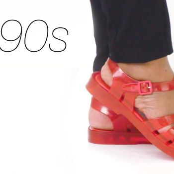 100 Years of Women's Shoes