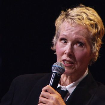 E. Jean Carroll Is Suing President Trump