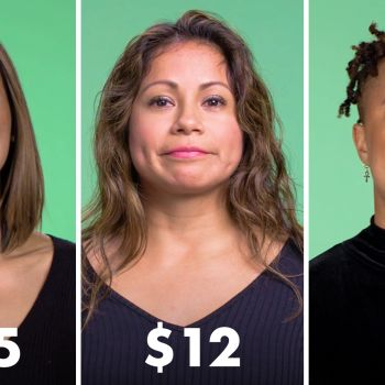 Women of Different Salaries on What They Spend on Lunch