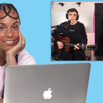 Alicia Keys Watches Fan Covers on YouTube
