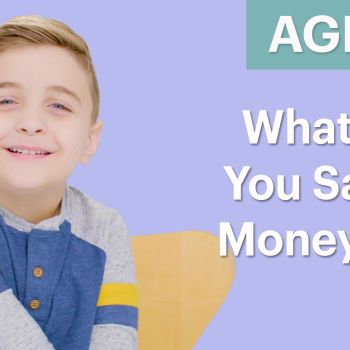 70 Men Ages 5-75: What Are You Saving Money For?