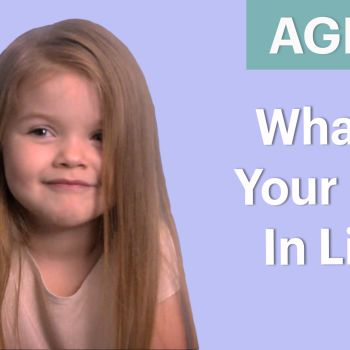 70 People Ages 5-75 Answer: What's Your Goal In Life?