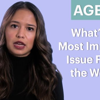 70 People Ages 5-75 Answer: What's the Most Important Issue Facing the World?