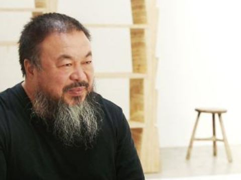 Evan Osnos and Ai Weiwei