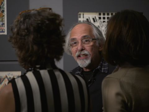 Art Spiegelman Tours His Retrospective
