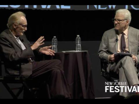 Peter Schjeldahl Talks with Steve Martin