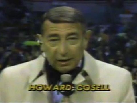 Howard Cosell As Howard Cosell