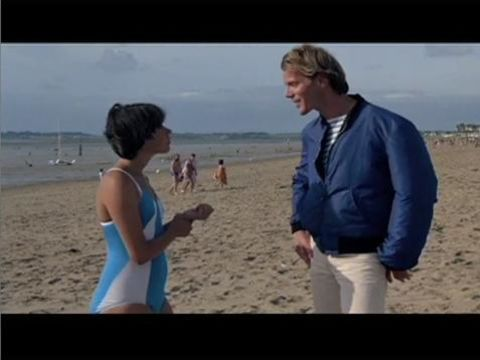 """Pauline at the Beach"""