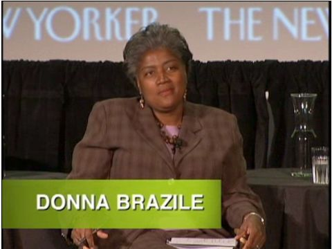 Donna Brazile at The New Yorker Festival