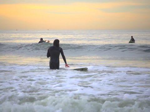 A Surfer's Saturday at Rockaway Beach