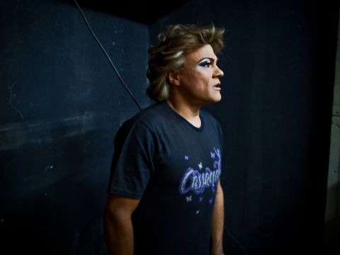 The Wrestling Star Who Competes in Drag