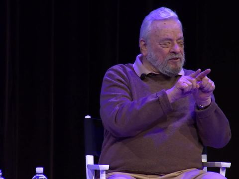 """Stephen Sondheim on """"Sweeney Todd"""" and His Process for Writing a Musical"""