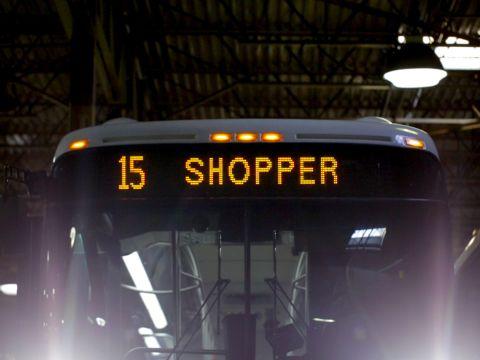 A Food Desert's Supermarket Shuttle
