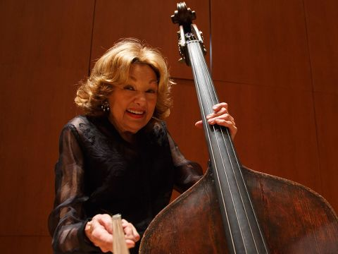 The Longest Shortest Double Bassist