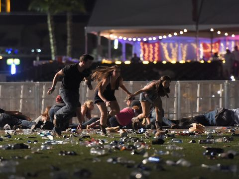 The Deadliest Mass Shooting in Recent U.S. History, Captured by Concertgoers