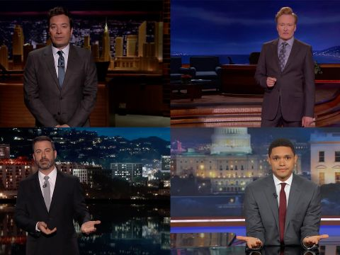 After the Las Vegas Mass Shooting, Late Night Addresses a Heartbroken Nation