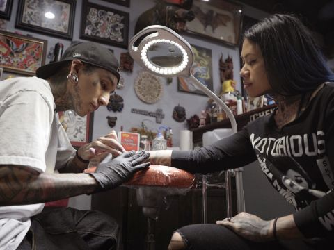 The Tattoo Parlor That's Vegas Strong