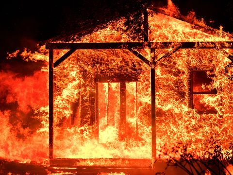 The Wildfires Ravaging Northern California