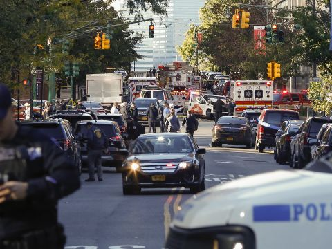 At Least Eight Are Dead Following a Vehicle Attack in Lower Manhattan