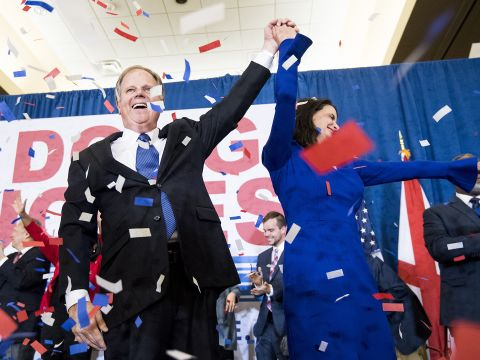 Doug Jones Defeats Roy Moore