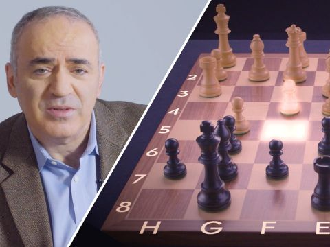 Chess Grandmaster Garry Kasparov Replays His Four Most Memorable Games