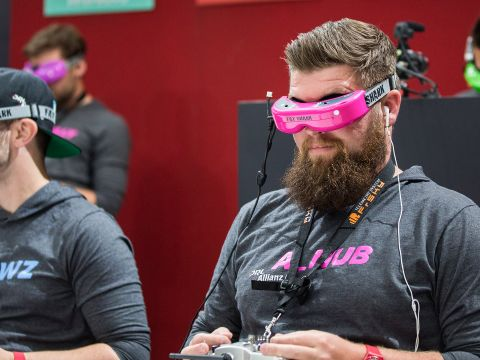 The World of Competitive Drone Racing