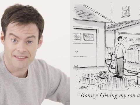 How to Write a New Yorker Cartoon Caption: Bill Hader Edition